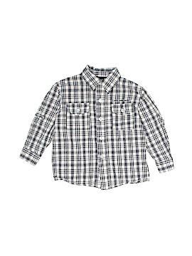 CALVIN KLEIN JEANS Long Sleeve Button-Down Shirt Size 24 mo