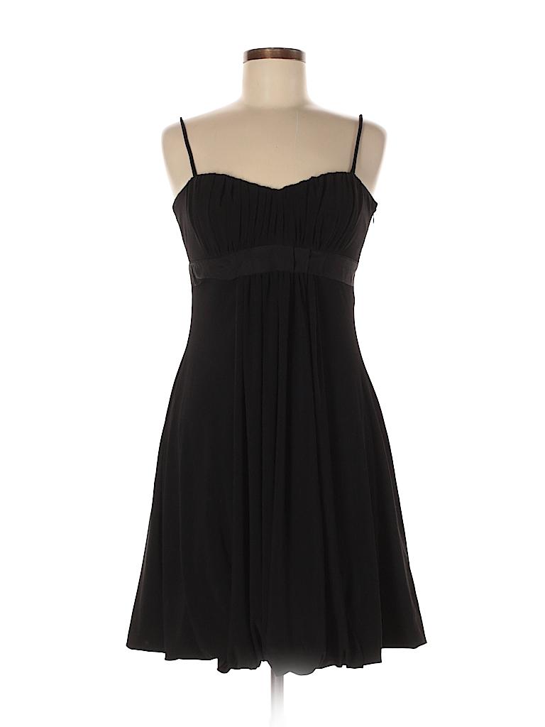 229154bcc9c DressBarn Solid Black Cocktail Dress Size 6 - 95% off