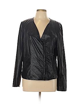 Gap Faux Leather Jacket Size L