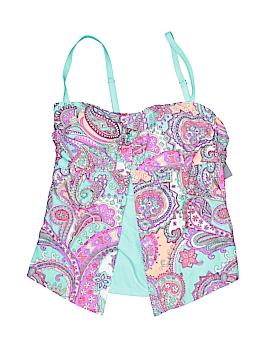 Separates Aqua Couture Swimsuit Top Size M