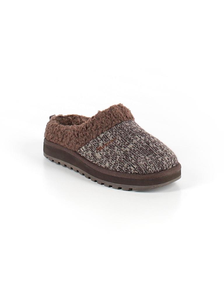 d4f69df79311 Skechers Solid Brown Mule Clog Size 6 - 92% off