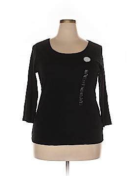 Charter Club 3/4 Sleeve T-Shirt Size 0X (Plus)