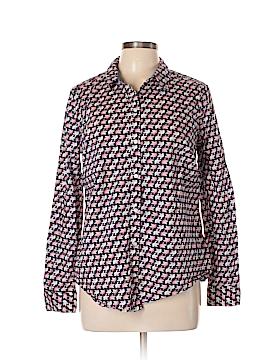 Charter Club Long Sleeve Button-Down Shirt Size 10
