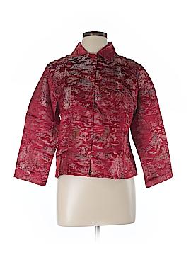 Silk Box Silk Blazer Size 12