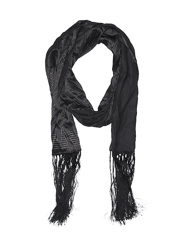 Chanel Print Black Scarf One Size - 69% off  c5aabaf03