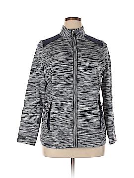 Charter Club Track Jacket Size 0X (Plus)