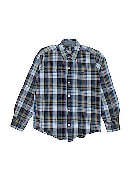 Gap Kids Outlet Long Sleeve Button-Down Shirt Size M (Kids)