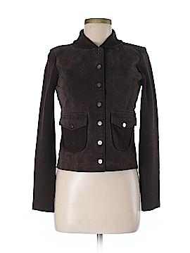 Cynthia Steffe Leather Jacket Size XS