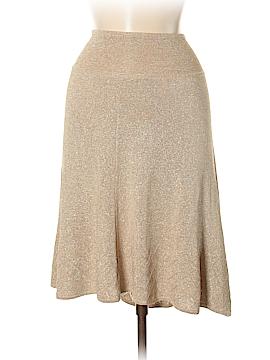 Bebe Silk Skirt Size M