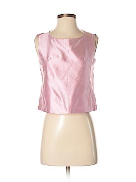 Max Mara Sleeveless Silk Top Size 4