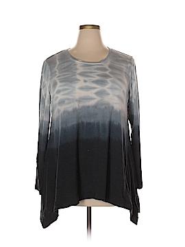 Style&Co Long Sleeve T-Shirt Size 2X (Plus)