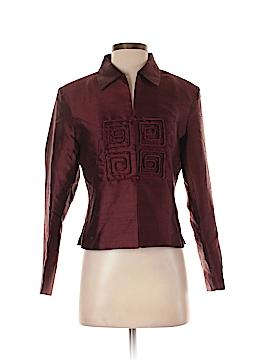 Silk Box Silk Blazer Size 4