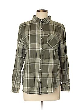 Vanilla Star Long Sleeve Button-Down Shirt Size L