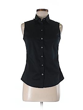 Banana Republic Factory Store Sleeveless Button-Down Shirt Size 6 (Petite)