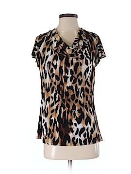 Grace Elements Short Sleeve Blouse Size M