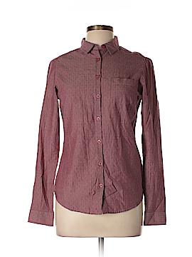 Fat face Long Sleeve Button-Down Shirt Size 10 (UK)