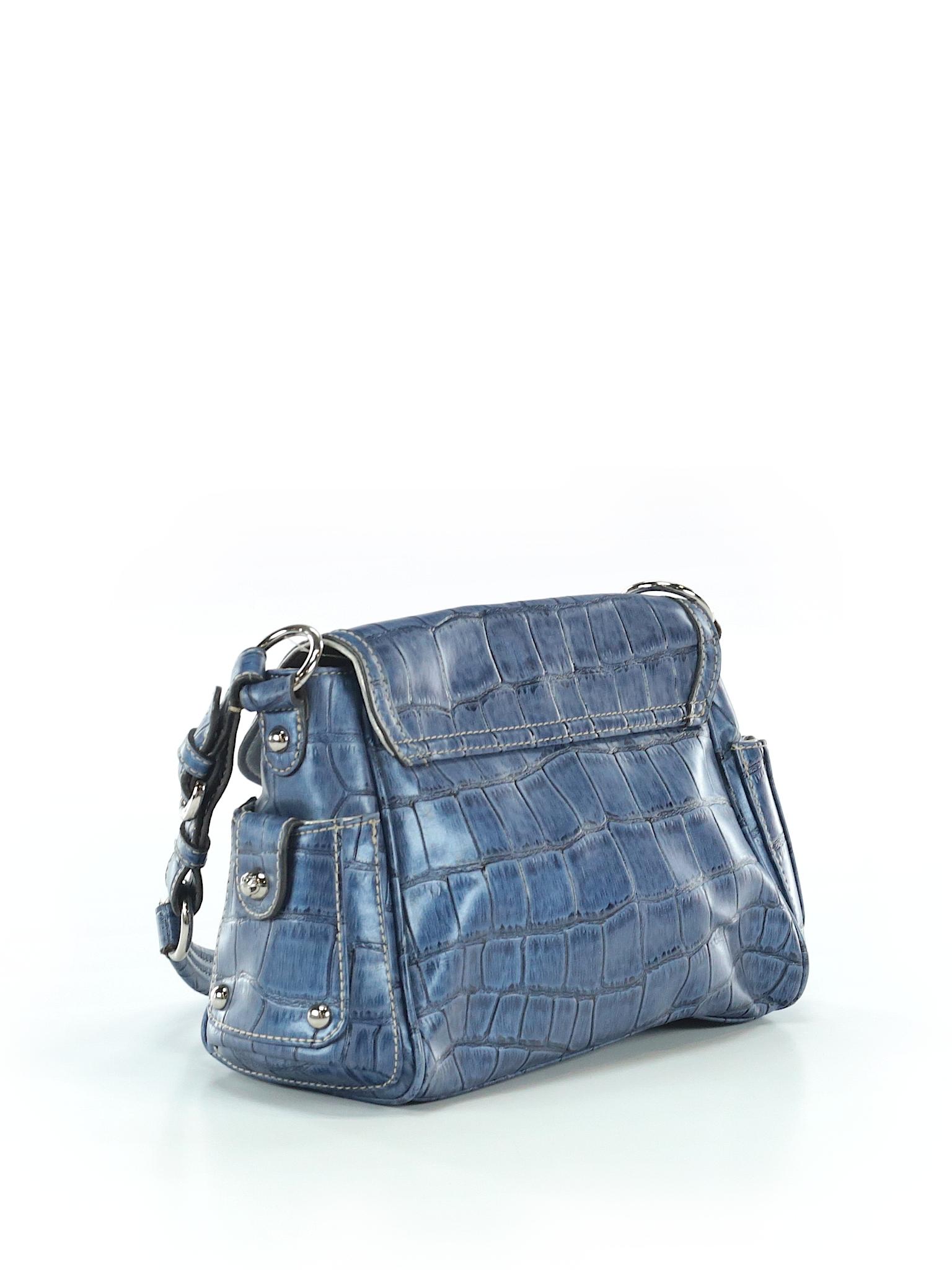 c58471fa223 Kathy Van Zeeland Solid Dark Blue Shoulder Bag One Size - 90% off   thredUP