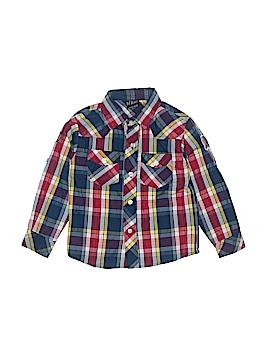 American Hero Long Sleeve Button-Down Shirt Size 5 - 6