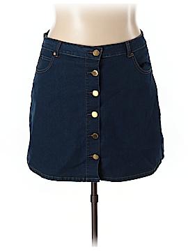 City Chic Denim Skirt Size 20 (Plus)