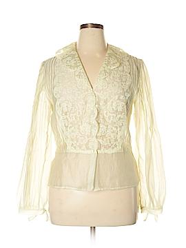 Nic + Zoe Long Sleeve Button-Down Shirt Size XL
