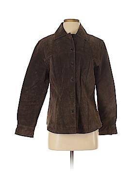 AMI Leather Jacket Size S