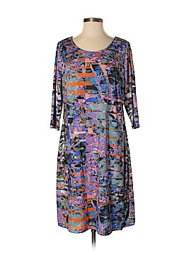 Triste Casual Dress Size 0X Plus (Plus)