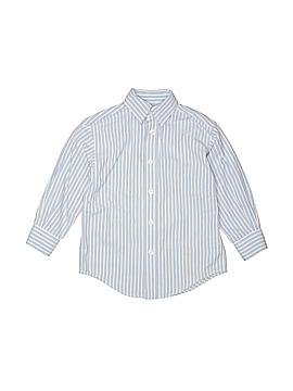 Class Club Long Sleeve Button-Down Shirt Size 4