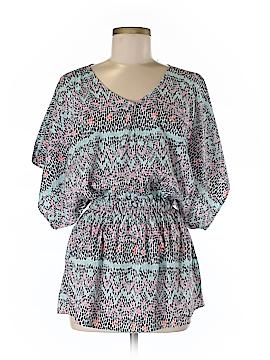 Tori Richard Short Sleeve Blouse Size XXS