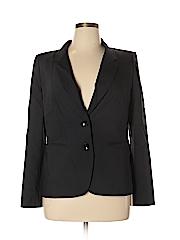 LUXE Women Wool Blazer Size 14