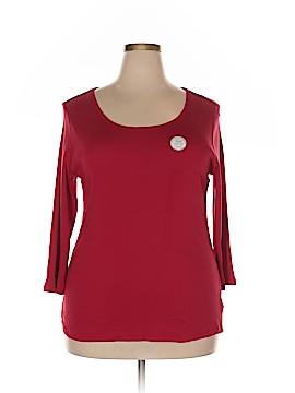 Charter Club Long Sleeve T-Shirt Size 2X (Plus)