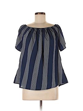 Workshop Short Sleeve Blouse Size M