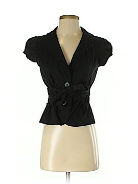 Ambiance Apparel Silk Blazer Size S