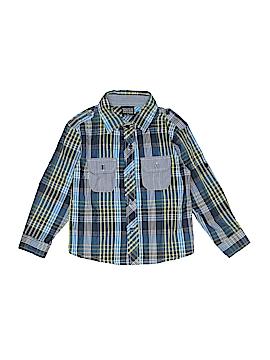 Quad Seven Long Sleeve Button-Down Shirt Size 4T