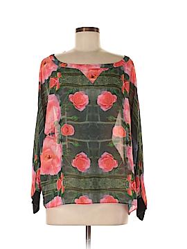 Julie Haus Long Sleeve Blouse Size M