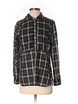 Steven Alan Long Sleeve Button-Down Shirt Size S