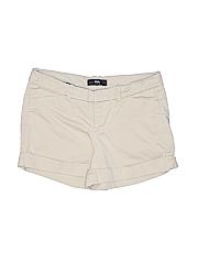 Mossimo Women Khaki Shorts Size 4