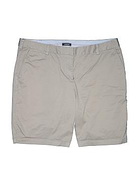 Lands' End Khaki Shorts Size 22 (Plus)