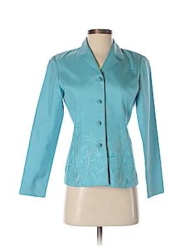 Dana Buchman Silk Blazer Size 2 (Petite)