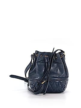 Miu Miu Leather Bucket Bag One Size