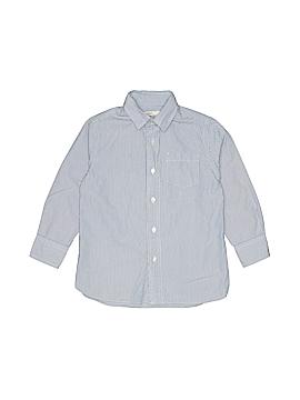 Crewcuts Long Sleeve Button-Down Shirt Size 4-5