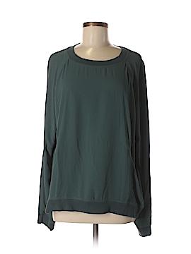 Lou & Grey Long Sleeve Blouse Size XL