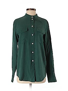 J. Crew Long Sleeve Silk Top Size XS (Tall)