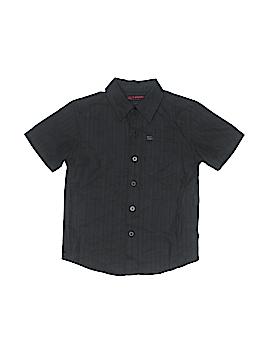 Tony Hawk Short Sleeve Button-Down Shirt Size 4