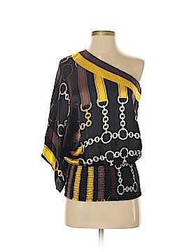 Bebe 3/4 Sleeve Silk Top Size XS