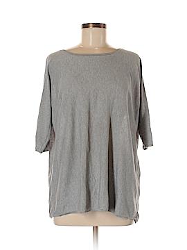 Garnet Hill Short Sleeve Silk Top Size S