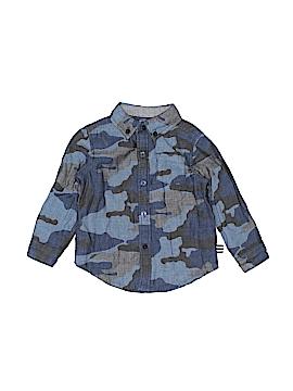 Splendid Long Sleeve Button-Down Shirt Size 12-18 mo