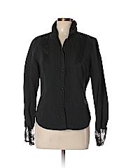 DKNY Jeans Women Long Sleeve Button-Down Shirt Size L