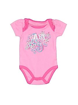 Baby Phat Short Sleeve Onesie Size 0-3 mo