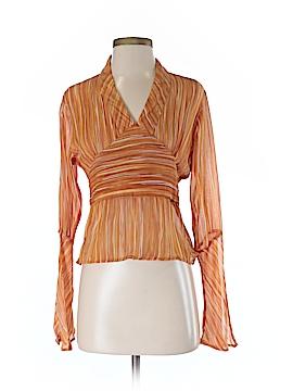 Dejavu Long Sleeve Blouse Size M