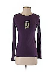 American Apparel Women Long Sleeve T-Shirt Size S